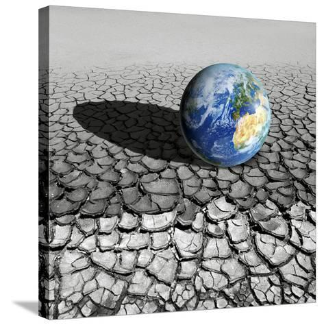 Global Warming, Conceptual Artwork-Detlev Van Ravenswaay-Stretched Canvas Print
