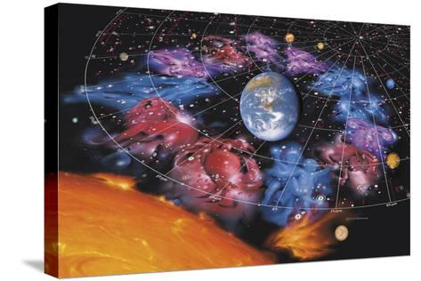 Zodiac Signs-Detlev Van Ravenswaay-Stretched Canvas Print