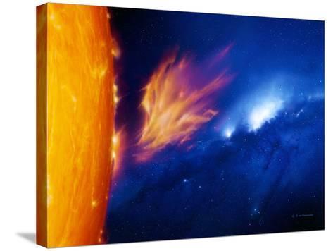 Solar Flare-Detlev Van Ravenswaay-Stretched Canvas Print