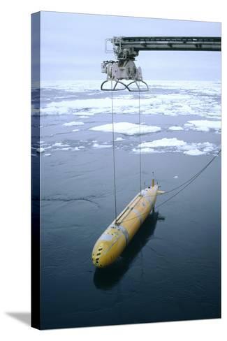 Autonomous Underwater Vehicle (Autosub)-David Vaughan-Stretched Canvas Print