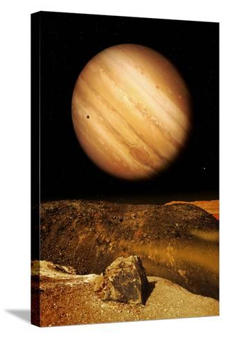 Jupiter From Io-Detlev Van Ravenswaay-Stretched Canvas Print