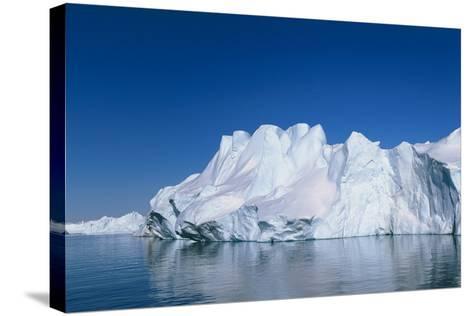 Iceberg-Jeremy Walker-Stretched Canvas Print