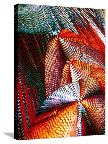 Copper Sulphate Crystals, LM-Dr. Keith Wheeler-Stretched Canvas Print
