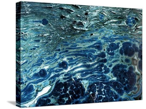 Malachite And Chrysocolla Minerals-Dirk Wiersma-Stretched Canvas Print