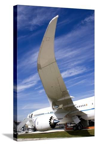 Boeing 787 Dreamliner At Farnborough-Mark Williamson-Stretched Canvas Print