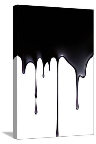 Fossil Fuel, Conceptual Image-SMETEK-Stretched Canvas Print