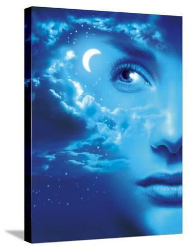Dreaming, Conceptual Image-SMETEK-Stretched Canvas Print