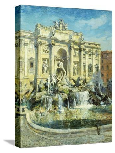 Trevi Fountain, Rome-Colin Campbell Cooper-Stretched Canvas Print