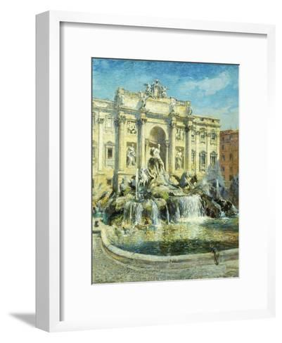 Trevi Fountain, Rome-Colin Campbell Cooper-Framed Art Print
