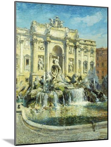 Trevi Fountain, Rome-Colin Campbell Cooper-Mounted Giclee Print
