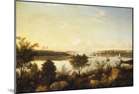 The Annisquam River Looking Toward Ipswich Bay-Fitz Hugh		 Lane-Mounted Giclee Print
