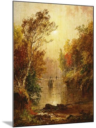 Autumn on the Wawayanda-Jasper Francis Cropsey-Mounted Giclee Print