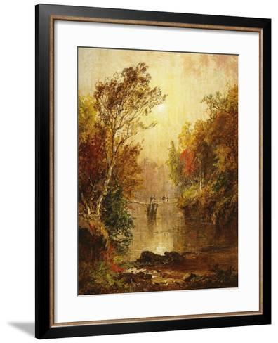 Autumn on the Wawayanda-Jasper Francis Cropsey-Framed Art Print