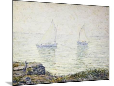 Sailboats-Ernest Lawson-Mounted Giclee Print