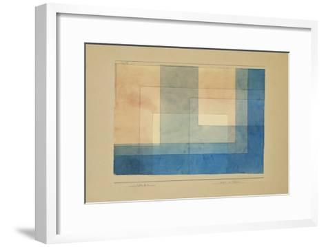 House by the Water-Paul Klee-Framed Art Print