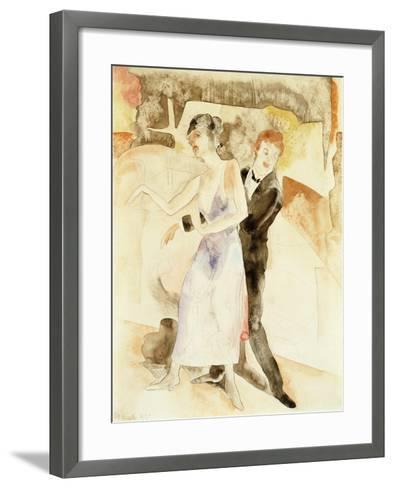 Song and Dance-Charles Demuth-Framed Art Print