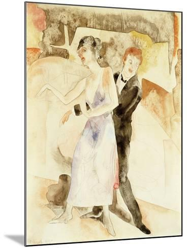 Song and Dance-Charles Demuth-Mounted Giclee Print