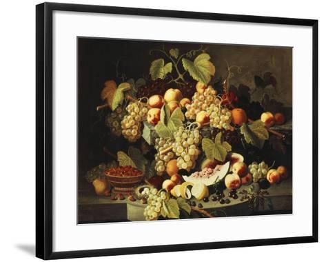 Bountiful Harvest-Severin Roesen-Framed Art Print