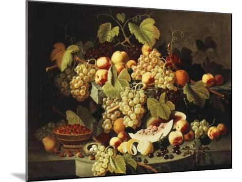 Bountiful Harvest-Severin Roesen-Mounted Giclee Print
