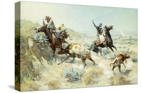 Range Mother-Charles Marion		 Russell-Stretched Canvas Print