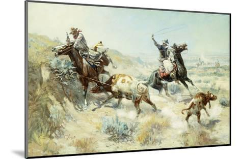 Range Mother-Charles Marion		 Russell-Mounted Giclee Print