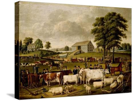 A Pennsylvania Country Fair-John Archibald Woodside-Stretched Canvas Print