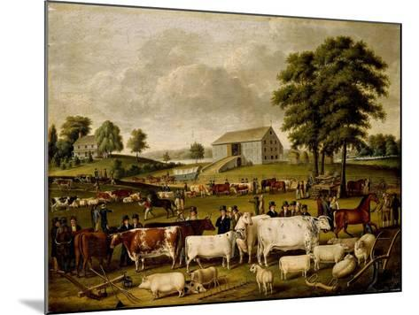 A Pennsylvania Country Fair-John Archibald Woodside-Mounted Giclee Print
