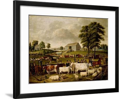 A Pennsylvania Country Fair-John Archibald Woodside-Framed Art Print