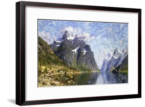 Hardanger Fjord, Norway-Normann Adelsteen-Framed Art Print
