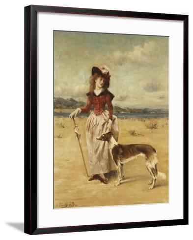 On the Beach-Bos George-Framed Art Print