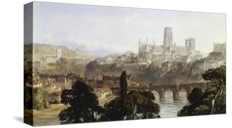Durham Cathedral-George Arthur Fripp-Stretched Canvas Print