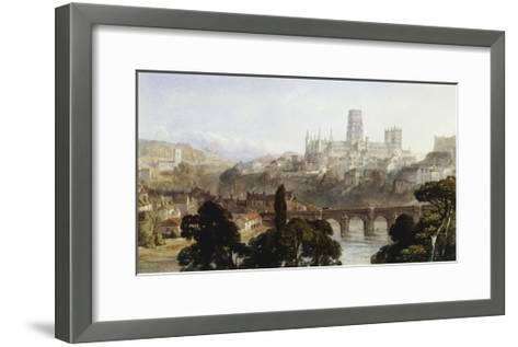 Durham Cathedral-George Arthur Fripp-Framed Art Print