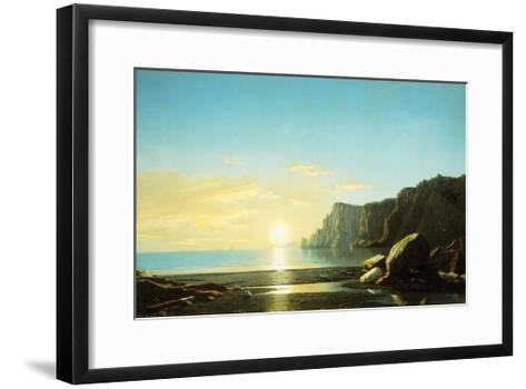 Off the Coast of Labrador-Bradford William-Framed Art Print