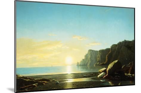 Off the Coast of Labrador-Bradford William-Mounted Giclee Print