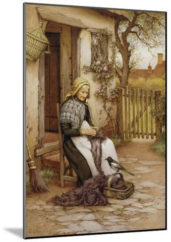 An Interruption-Charles Edward Wilson-Mounted Giclee Print