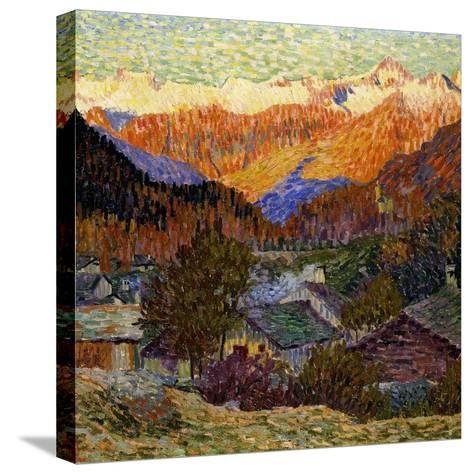 Autumn Morning (Original), 1908-Giacometti Giovanni-Stretched Canvas Print