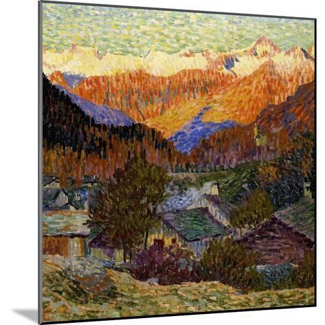 Autumn Morning (Original), 1908-Giacometti Giovanni-Mounted Giclee Print