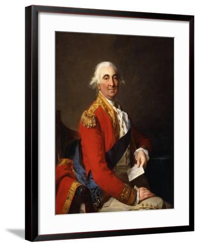 Portrait of William Petty, 2nd Earl of Shelburne, 1st Marquis of Lansdowne (1737-1805)-Jean Laurent Mosnier-Framed Art Print
