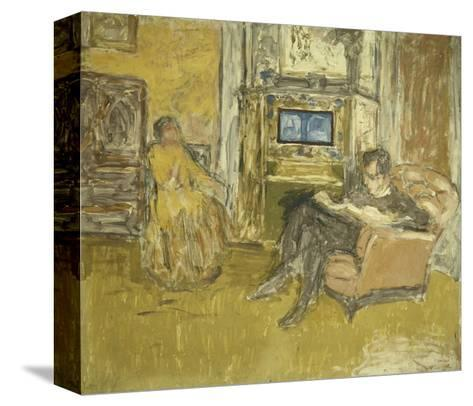 Study for a Portrait of Mr. and Mrs. Marcel Kapferer-Edouard Vuillard-Stretched Canvas Print