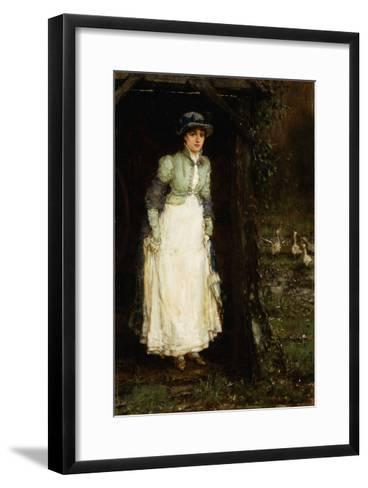 Spring Showers-George Henry		 Boughton-Framed Art Print