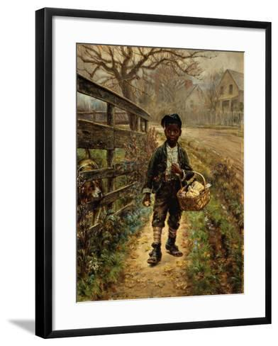 Protecting the Groceries-Edward Lamson Henry-Framed Art Print