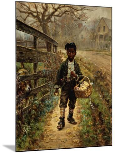 Protecting the Groceries-Edward Lamson Henry-Mounted Giclee Print