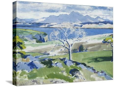 Ben Cruachan from Achnacraig, Mull-Francis Campbell Cadell-Stretched Canvas Print
