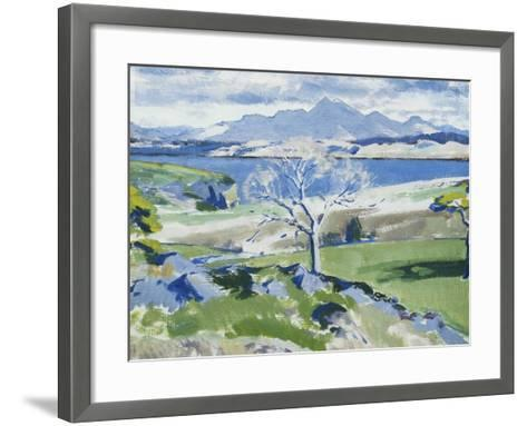 Ben Cruachan from Achnacraig, Mull-Francis Campbell Cadell-Framed Art Print