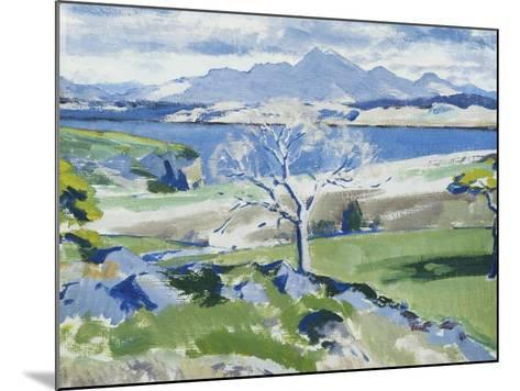 Ben Cruachan from Achnacraig, Mull-Francis Campbell Cadell-Mounted Giclee Print