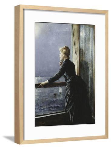 The Milky Way-Alfred Stevens-Framed Art Print