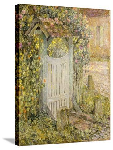 Le Pothuis, Gerberoy-Henri Eugene Augustin Le Sidaner-Stretched Canvas Print