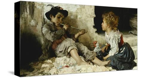 A Captivated Audience-Adriano Bonifazi-Stretched Canvas Print