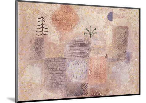 Park with the cool Crescent-Paul Klee-Mounted Giclee Print