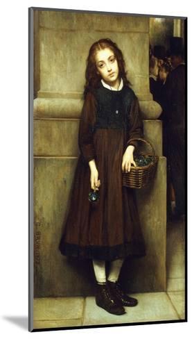 Flower Girl outside the Opera-Guillaume Charles Brun-Mounted Giclee Print